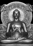 Silver Budha